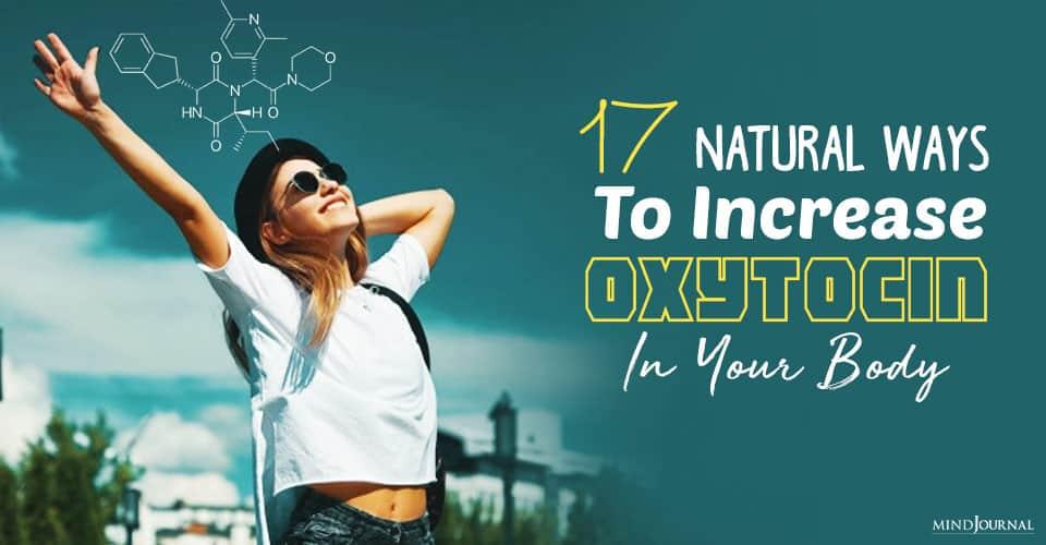 natural ways to increase oxytocin