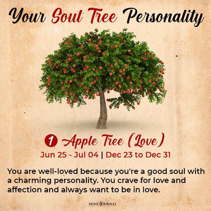 soul tree astrology apple