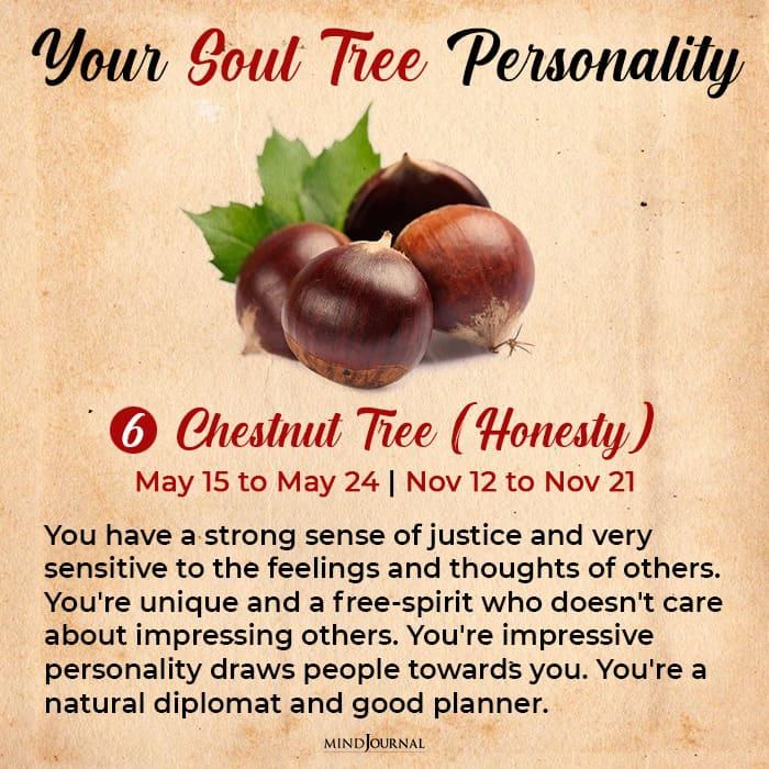 soul tree astrology chestnut