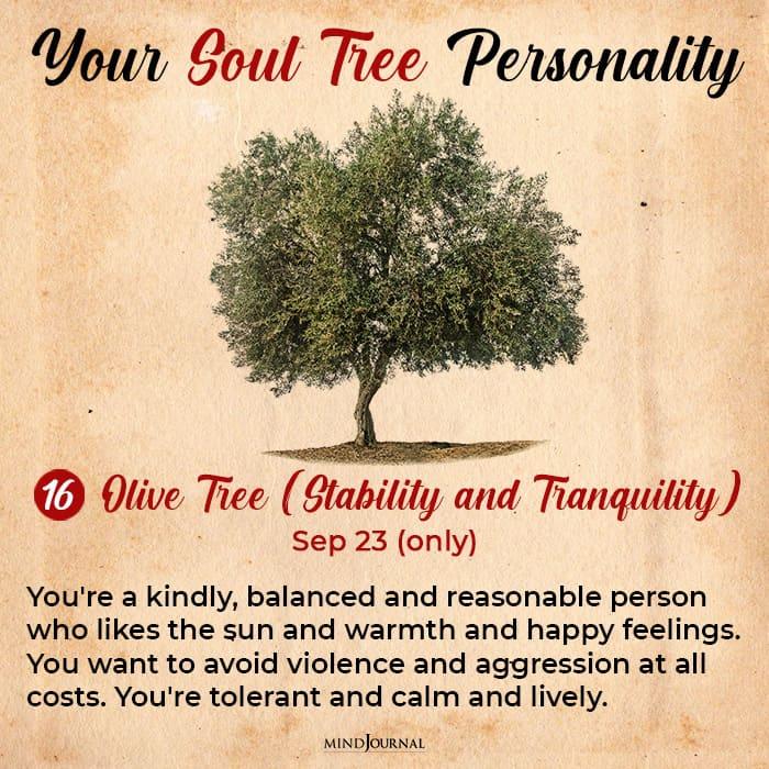 soul tree astrology olive