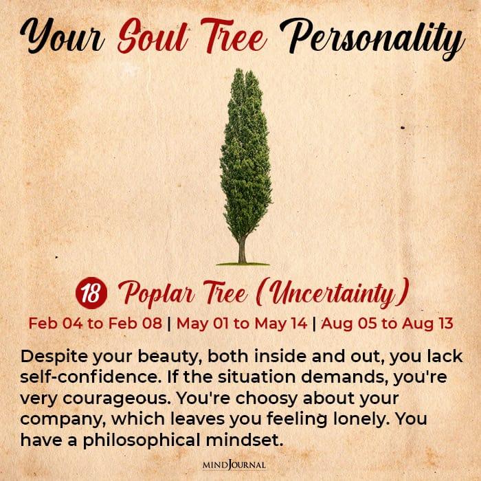 soul tree astrology poplar