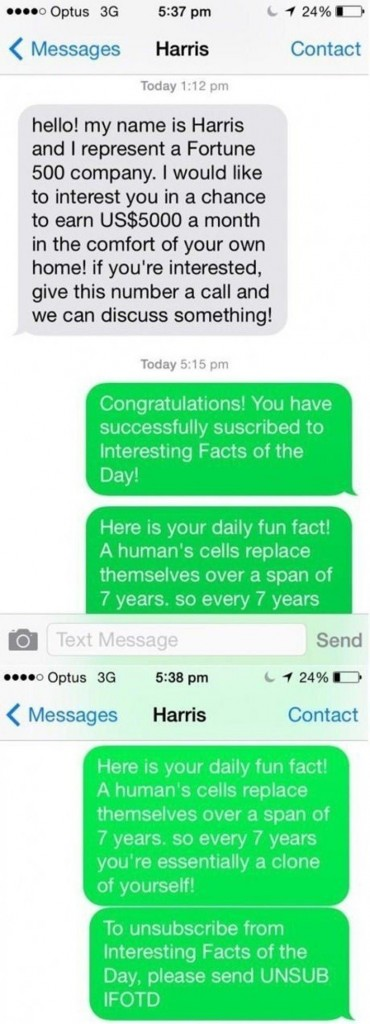 This Is The Best Reply To A Text You'll Ever Read