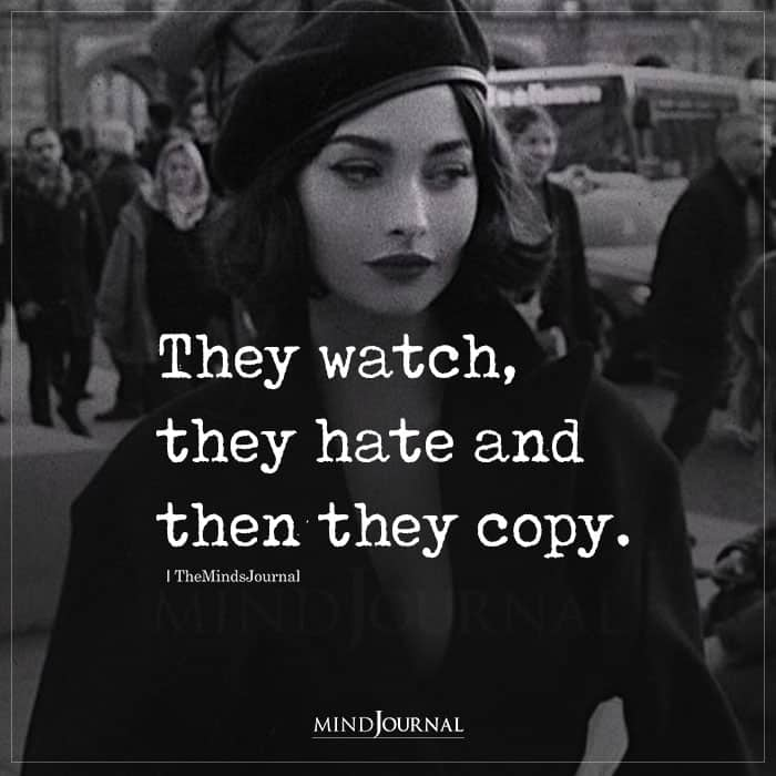 they copy