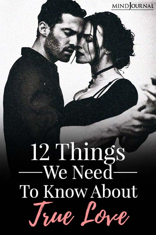 things we need to know about true love pin