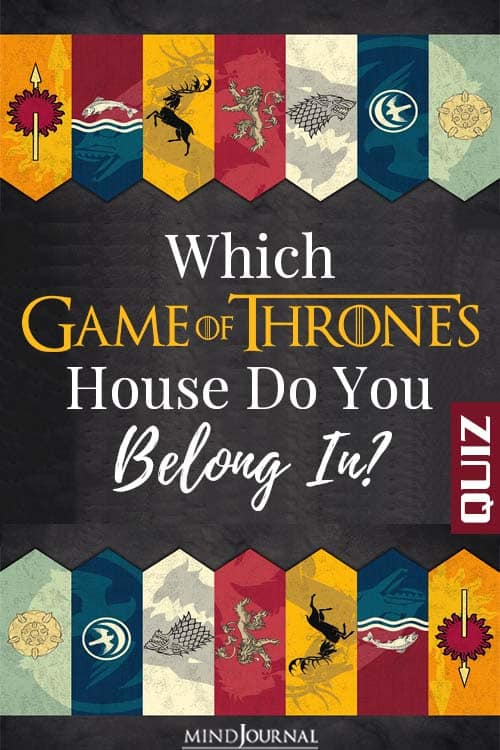 which game of thrones house do you belong in pin