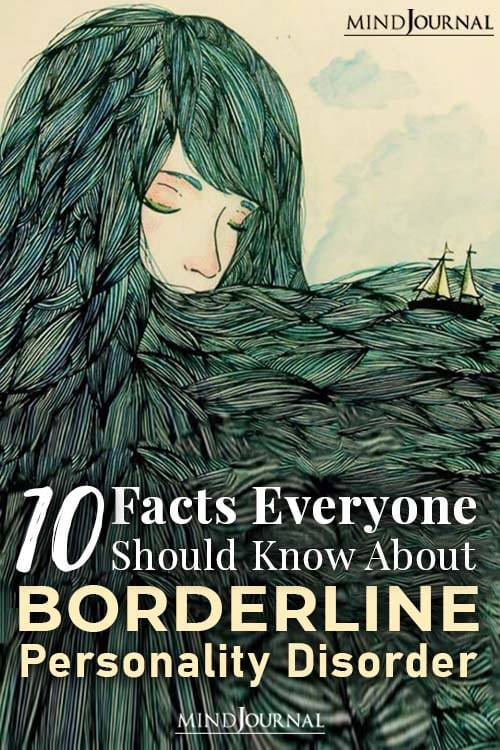 10 Facts Borderline Personality Disorder Pin
