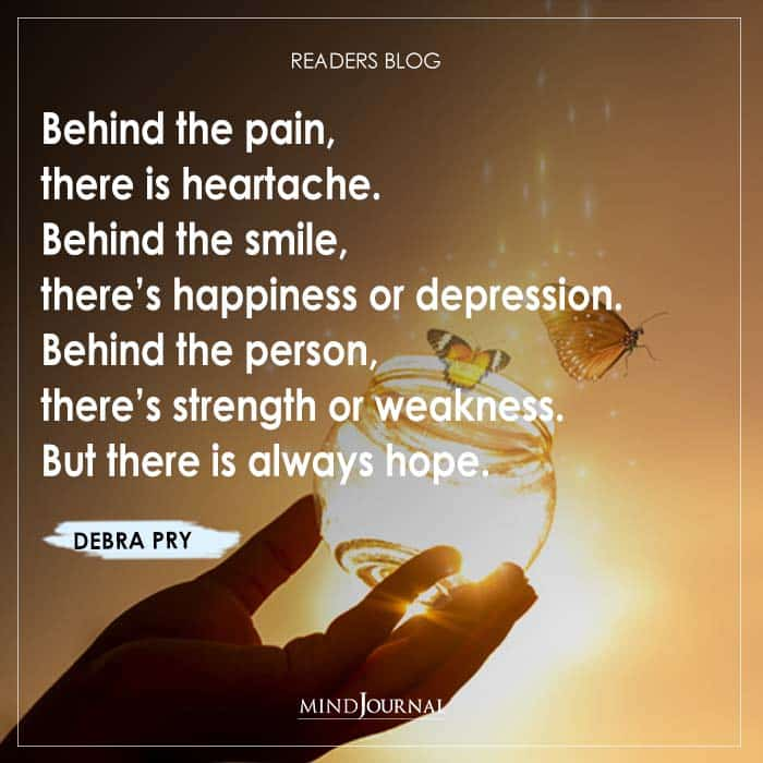 Behind the pain