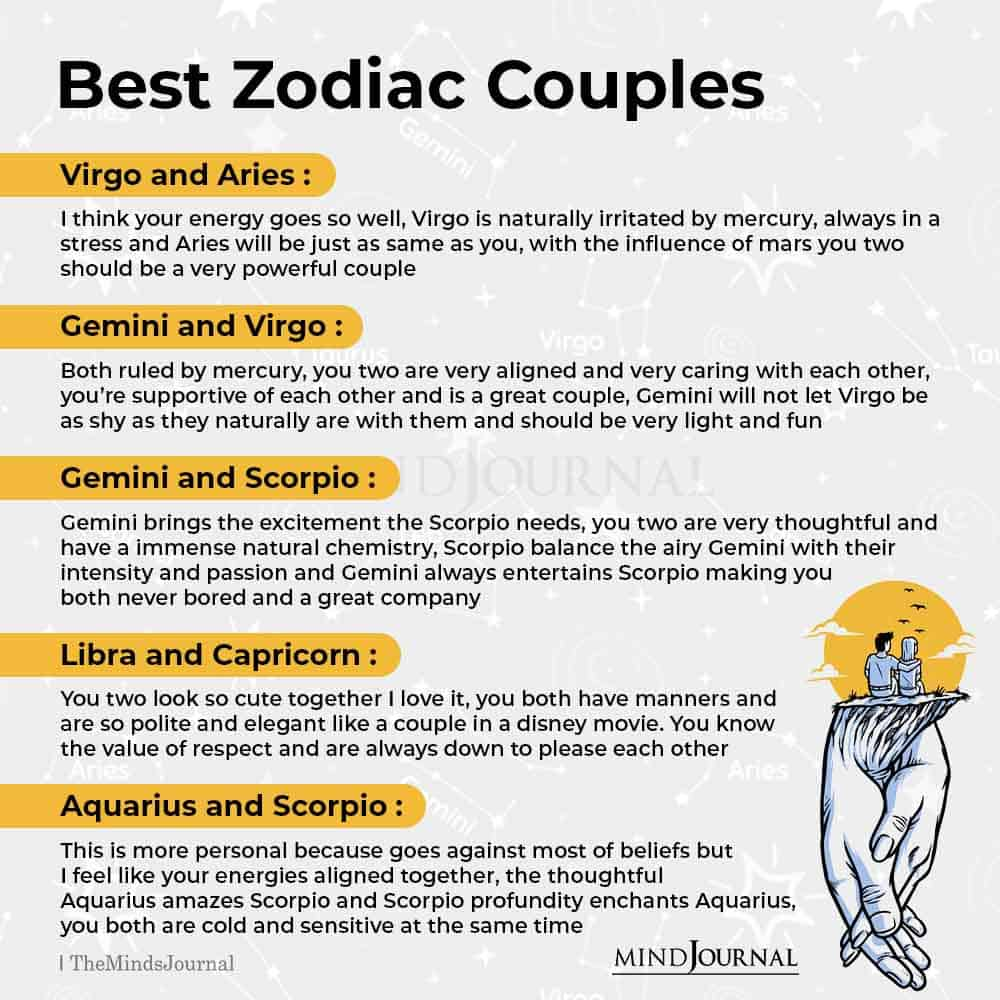 Best Zodiac Couples I Have Known
