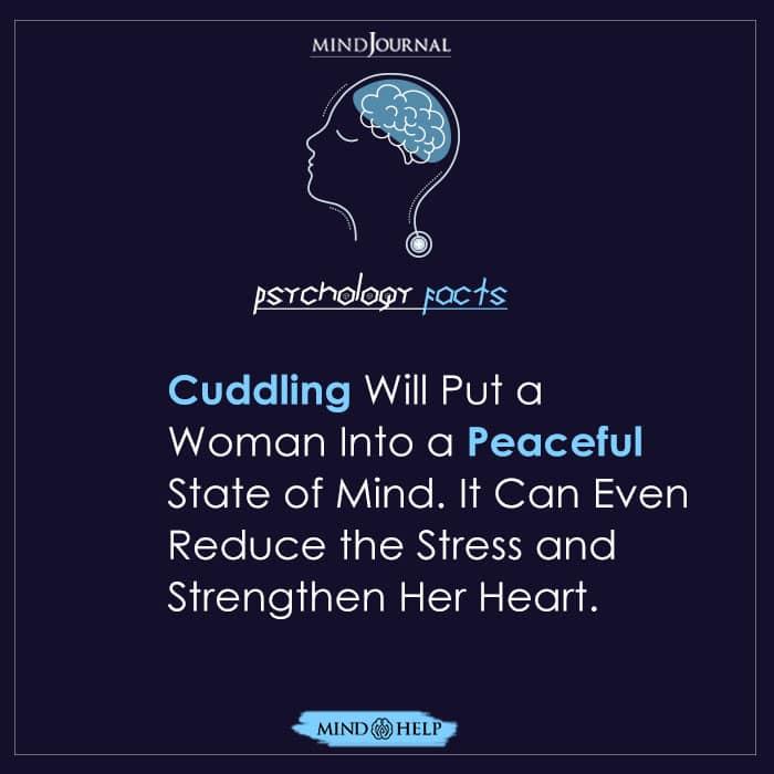 Cuddling Will Put a Woman
