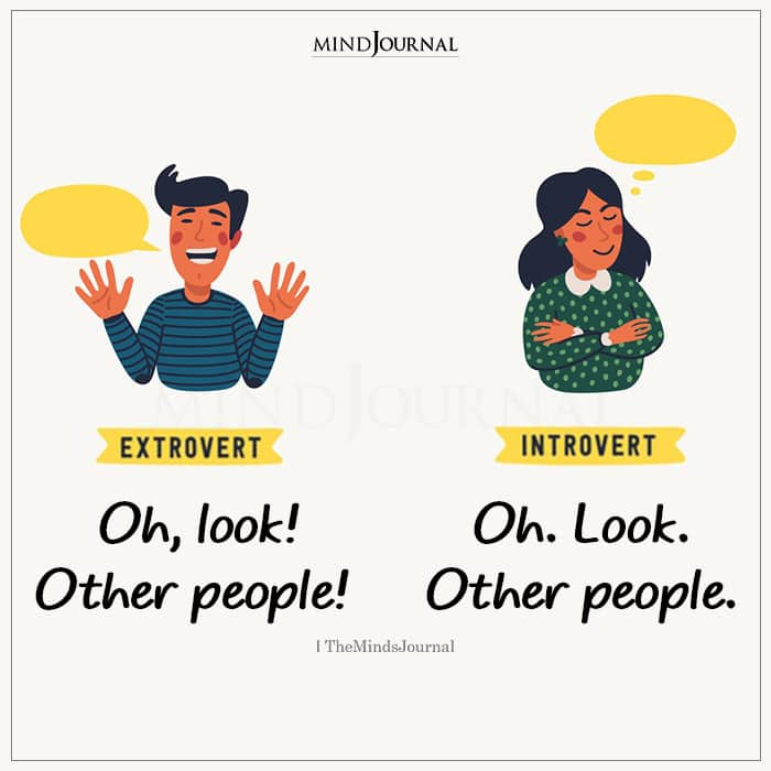 Extroverts Oh Look Other People