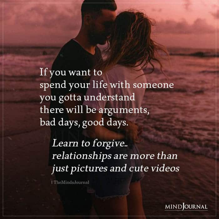 If You Want To Spend Your Life With Someone (1)