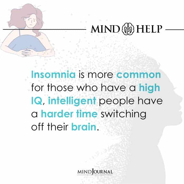 Insomnia is more common
