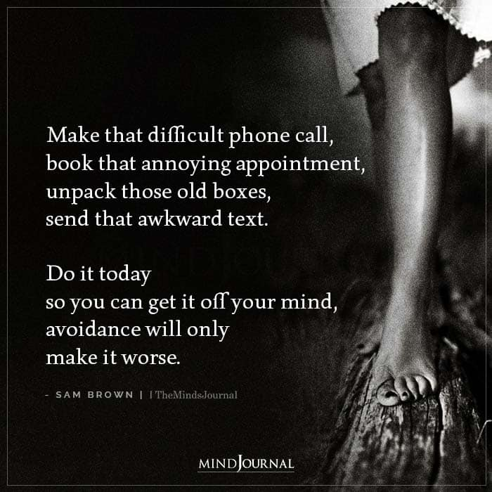 Make That Difficult Phone Call