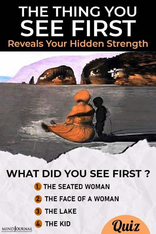 Most Hidden Strength pin