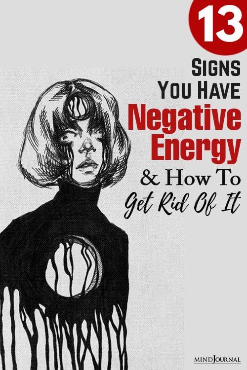 Negative Energy Get Rid Of