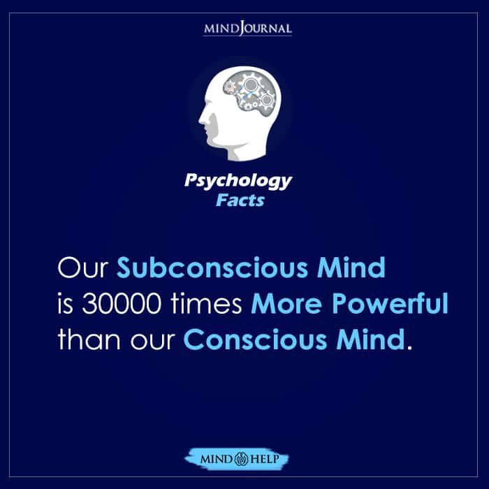 Our Subconcious Mind