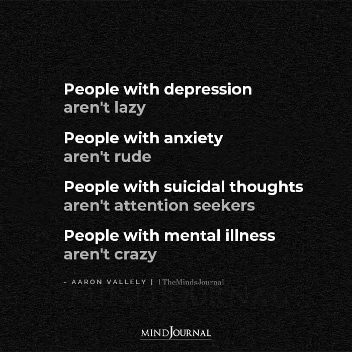 People With Depression Are Not Lazy