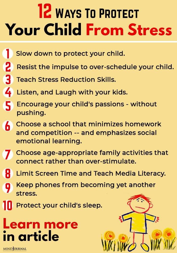 Protect Child Stress info