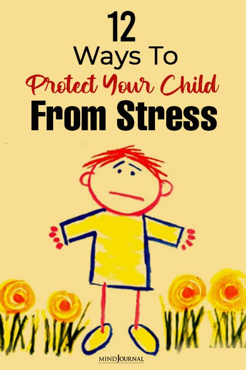 Protect Child Stress pin