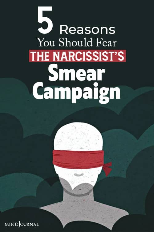Reasons Fear Narcissist Smear Campaign pin