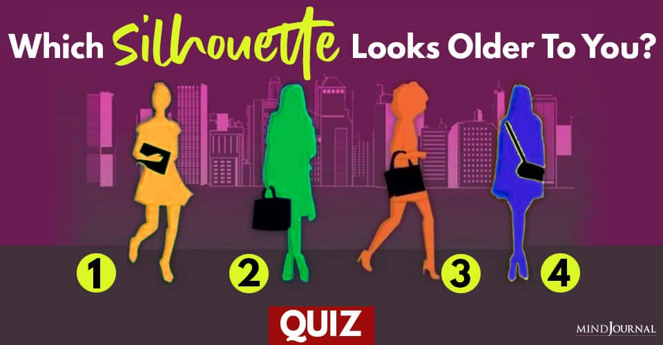 Silhoutte Looks Older To You