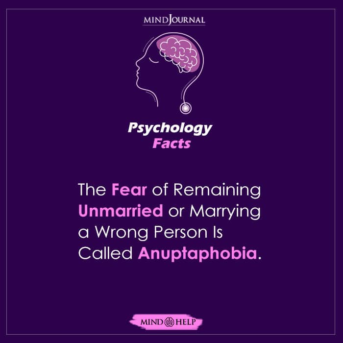 The Fear of Remaining Unmarried