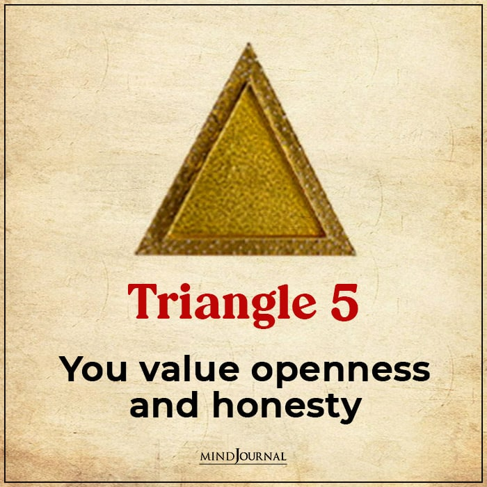 Triangle Choose Main Virtues ambitious honesty