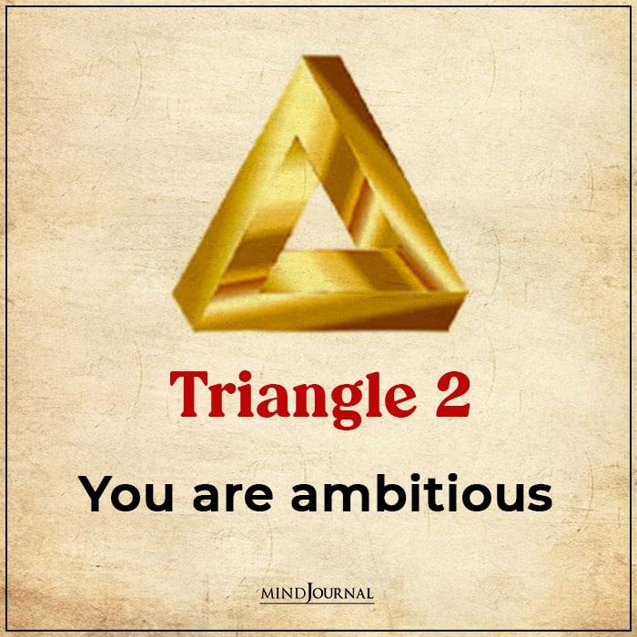 Triangle Choose Main Virtues ambitious