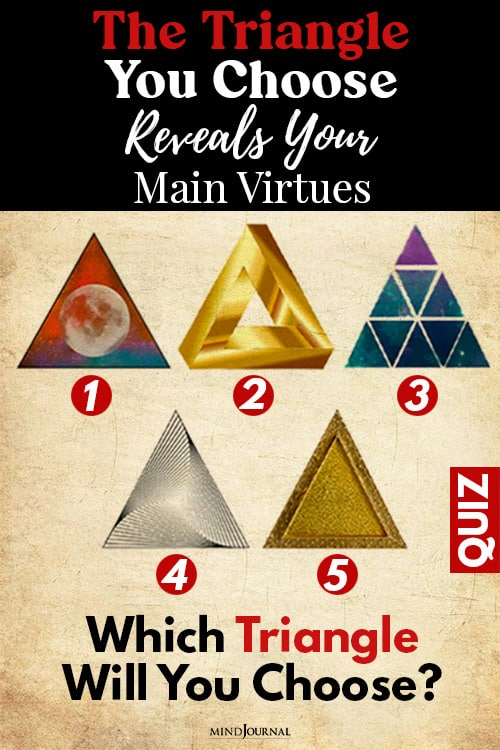 Triangle Choose Main Virtues pin