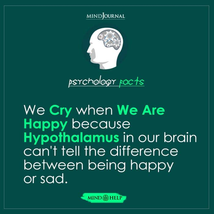 We Cry When We Are Happy