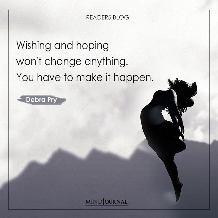 Wishing and hoping