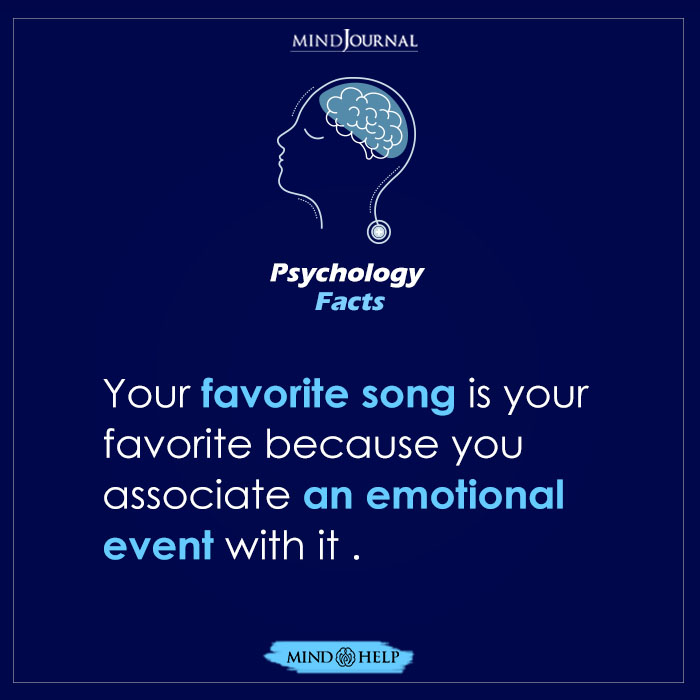Your Favorite Song Is Your Favorite