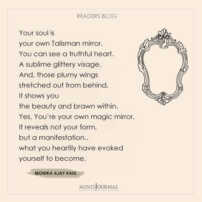 Your Soul Is Your Own Talisman Mirror