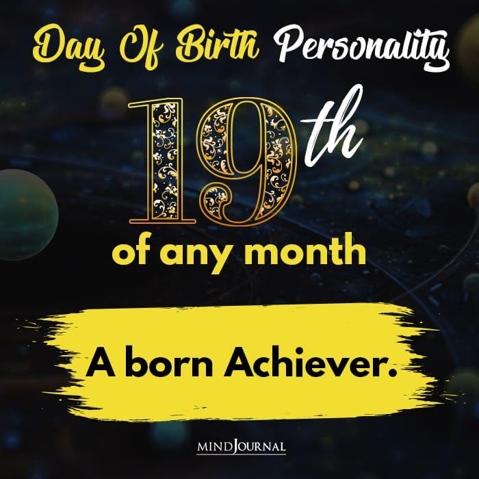 a born achiever