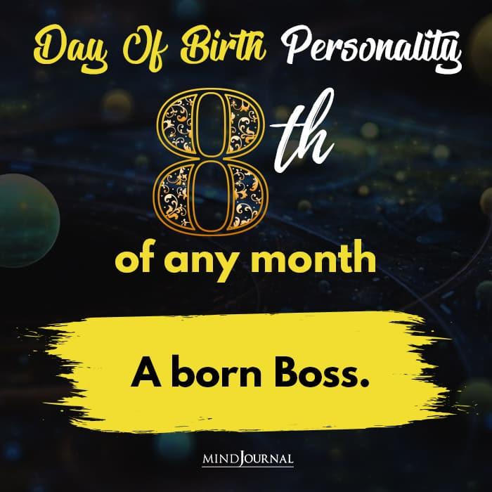 a born boss