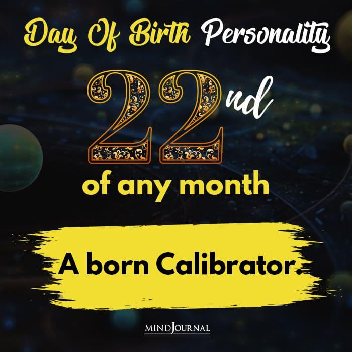 a born calibrator