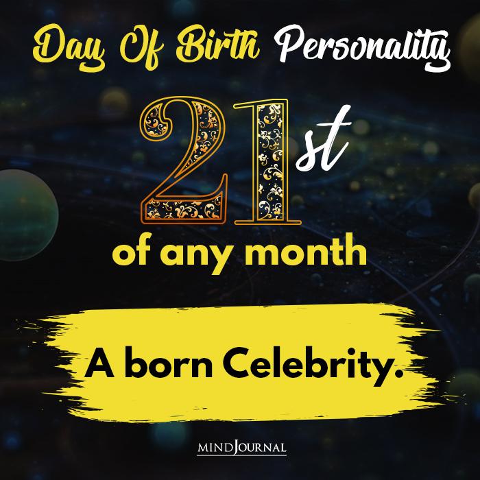 a born celebrity