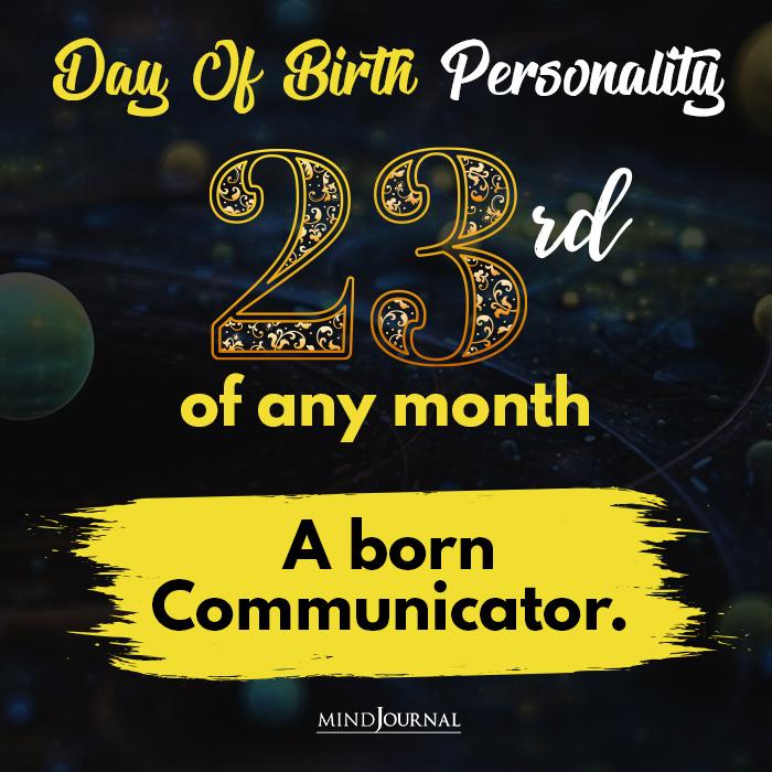 a born communicator
