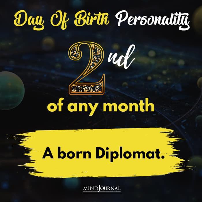 a born diplomat