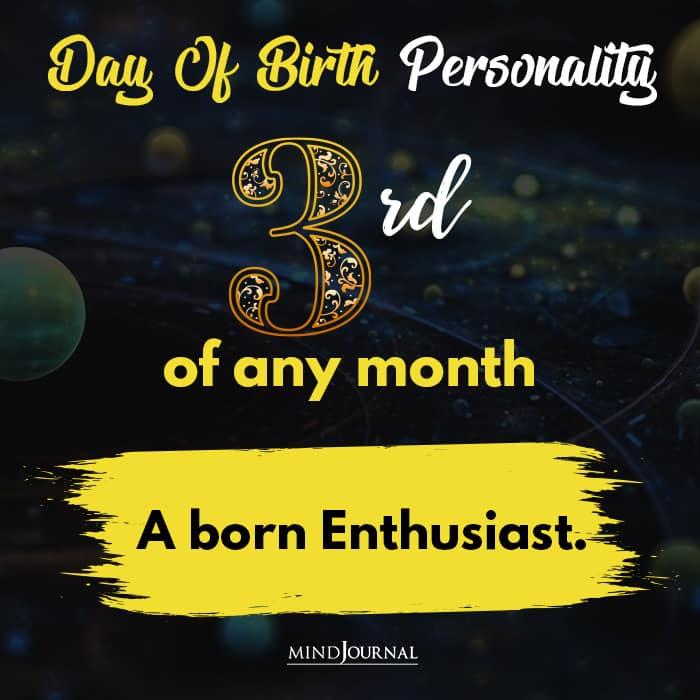 a born enthusiast