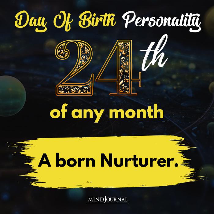 a born nurturer