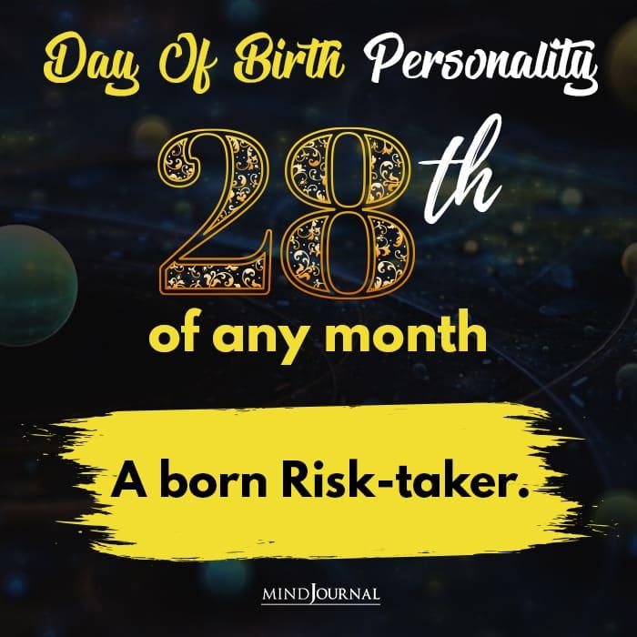 a born risk taker