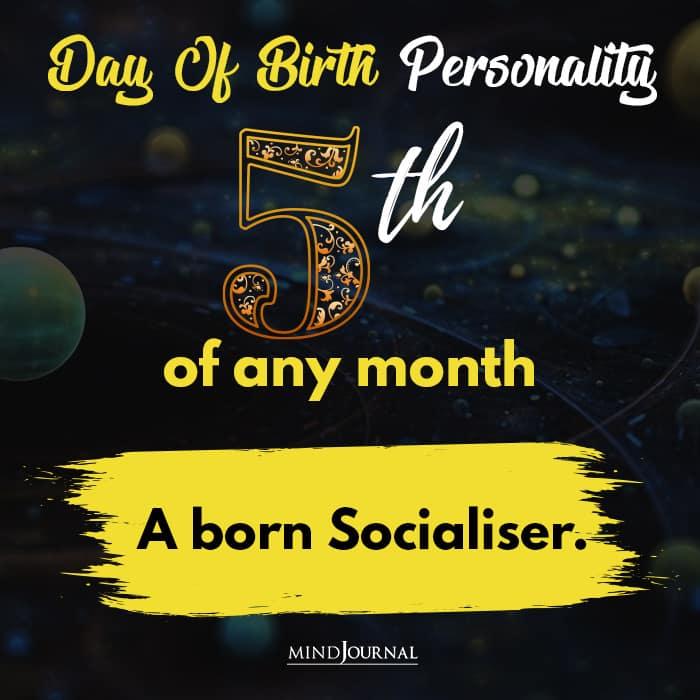 a born socialiser