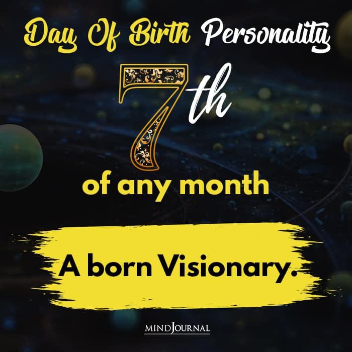 a born visionary