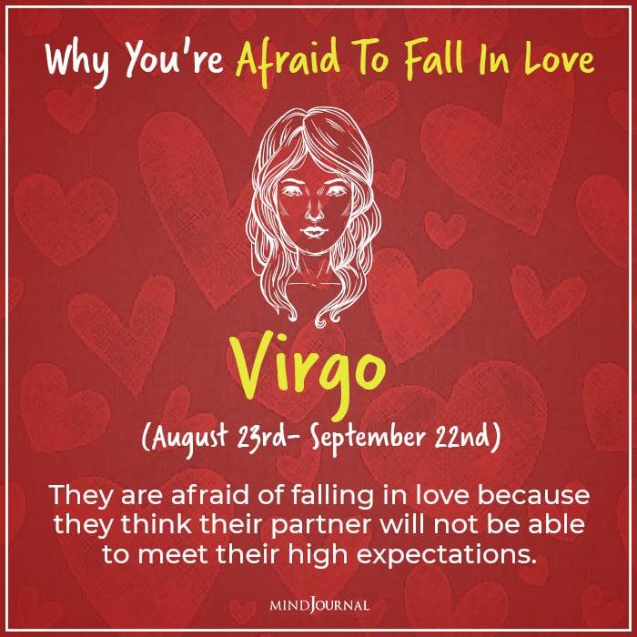 afraid of falling in love virgo