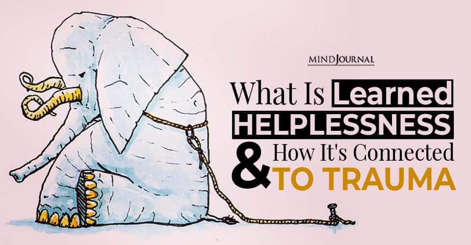 learned helplessness connected to trauma