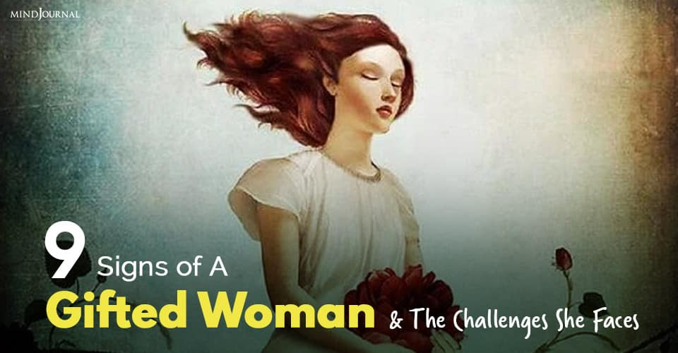 signs of a gifted woman
