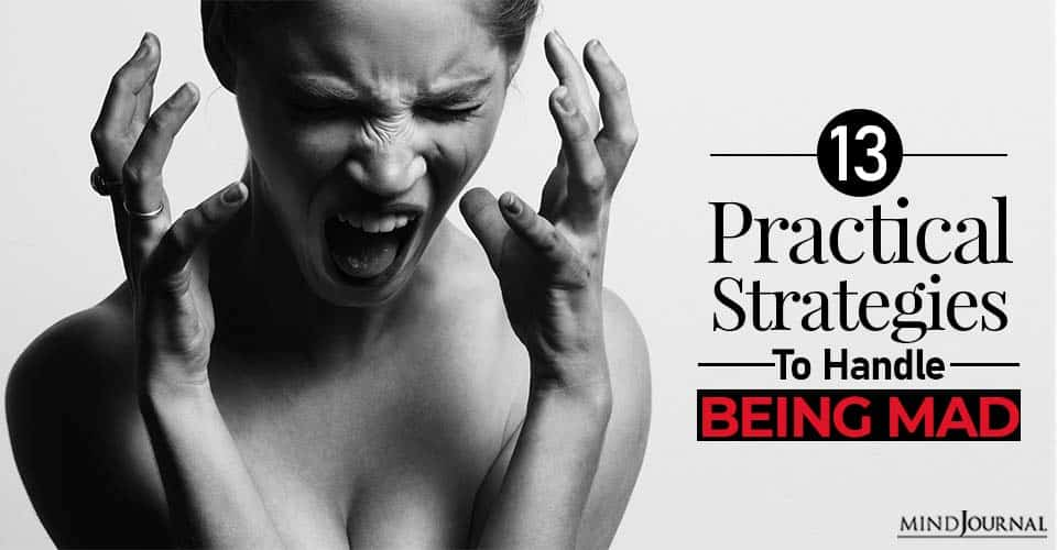strategies to handle being mad or angry