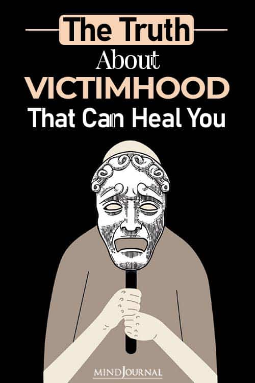 truth about victimhood pin