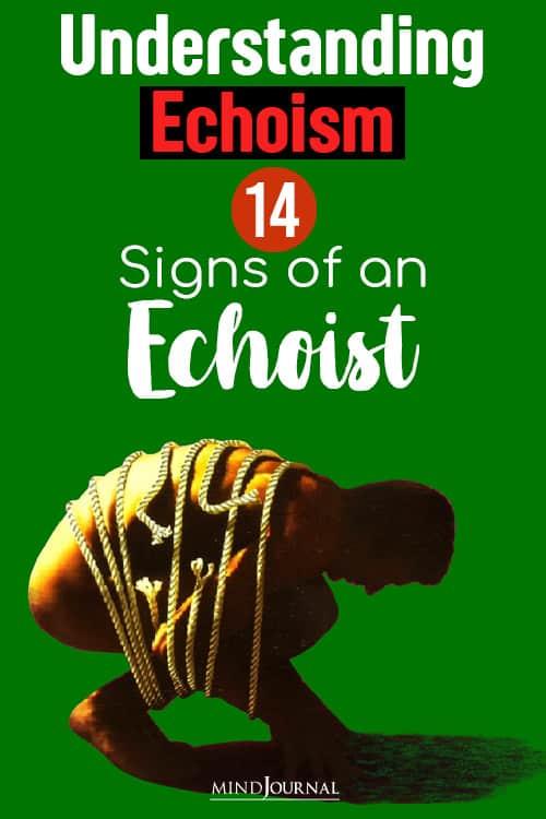 understanding echoism echo